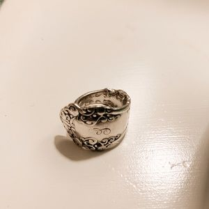 Silver Handcrafted Spoon Ring